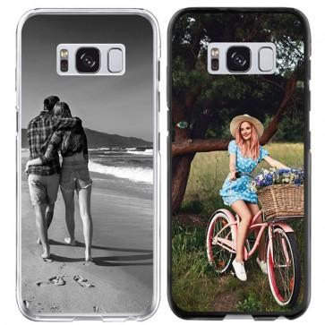 Galaxy S8 PLUS - Silikon Handyhülle Selbst Gestalten