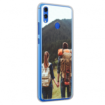 Huawei Honor 8X - Hard Case Hülle Selbst Gestalten