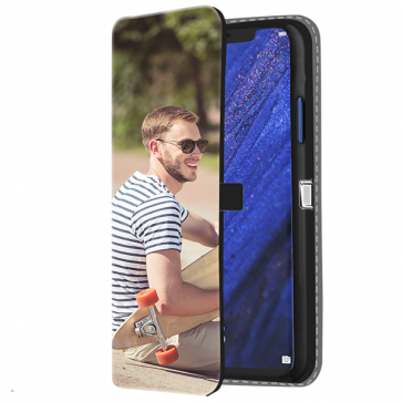 Huawei Mate 20 Pro - Wallet Case Selbst Gestalten (Vorne Bedruckt)