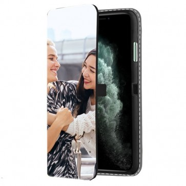 iPhone 11 Pro - Wallet Case Selbst Gestalten (Vorne Bedruckt)