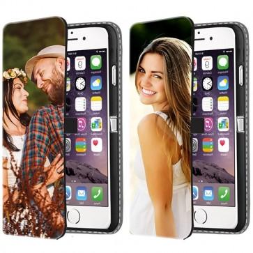 iPhone 6 PLUS & 6S PLUS - Wallet Case Selbst Gestalten (Vorne Bedruckt)
