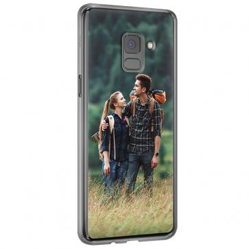 Samsung Galaxy A8 (2018) - Silikon Handyhülle Selbst Gestalten