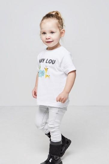 Kinder- Klassisches T-Shirt Rundhalsausschnitt 2-4 Jahre