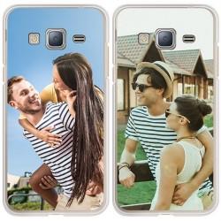 Samsung Galaxy J3 (2016) - Silikon Handyhülle Selbst Gestalten