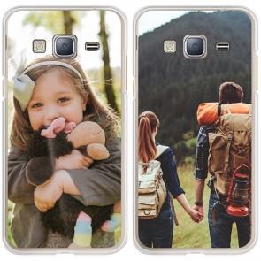 Samsung Galaxy J3 2015 - Silikon Handyhülle Selbst Gestalten