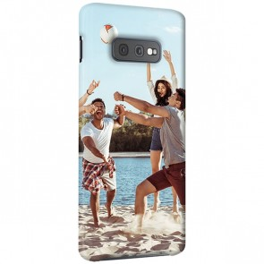 Samsung Galaxy S10 E - Rundum Bedruckte Hard Case Handyhülle Selbst Gestalten