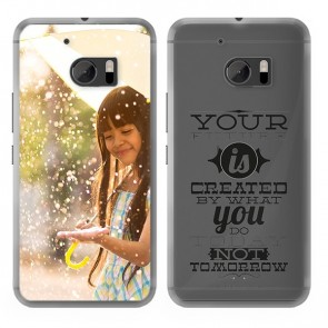 HTC 10 - Hard Case Handyhülle Selbst Gestalten