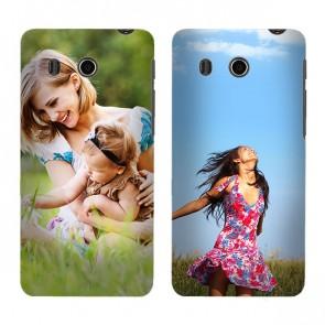 Huawei Ascend G525 - Handyhülle selbst gestalten - Hard Case - Weiß