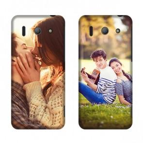 Huawei Ascend G510 - Handyhülle selbst gestalten - Hard Case - Weiß