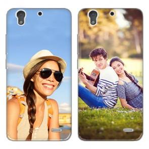 Huawei Ascend G630 - Handyhülle selbst gestalten - Hard Case - Schwarz oder weiß