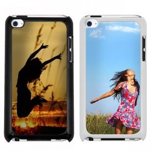 iPod Touch 4G - Handyhülle selbst gestalten - Hard Case - Schwarz oder weiß