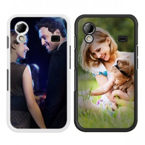 Samsung Galaxy Ace - Handyhülle selbst gestalten - Hard Case - Schwarz oder weiß