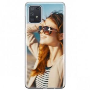 Samsung Galaxy A91 - Silikon Handyhülle Selbst Gestalten