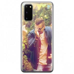 Samsung Galaxy S20 - Silikon Handyhülle Selbst Gestalten