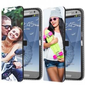 Samsung Galaxy S3 - Wallet Case Selbst Gestalten (Vorne Bedruckt)