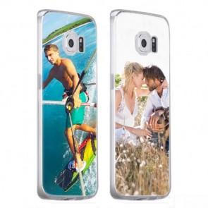 Samsung Galaxy S6 - Silikon Handyhülle Selbst Gestalten