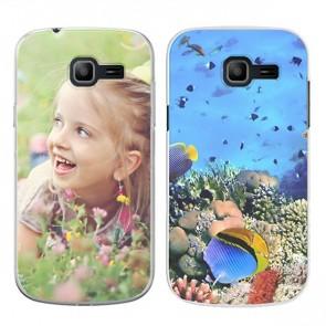 Samsung Galaxy Trend Lite - Handyhülle selbst gestalten - Hard Case - Schwarz