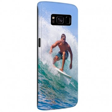 Samsung Galaxy S8 - Hardcase hoesje maken - Rondom bedrukt