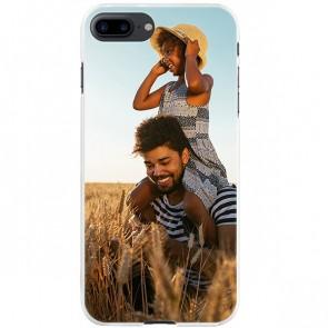 iPhone 8 PLUS - Hardcase hoesje ontwerpen - Zwart, wit of transparant