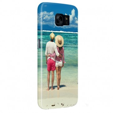 Samsung Galaxy S7 - Rondom Bedrukt Hardcase Hoesje Maken