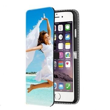 iPhone 6 PLUS & 6S PLUS - Portemonnee Hoesje Maken (Voorzijde Bedrukt)