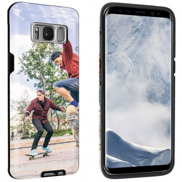 Samsung Galaxy S8 - Custom Full Wrap Tough Case