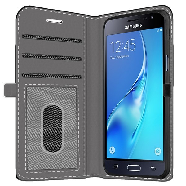 Samsung Galaxy J3 2016 - Custom Wallet Case (Front Printed)