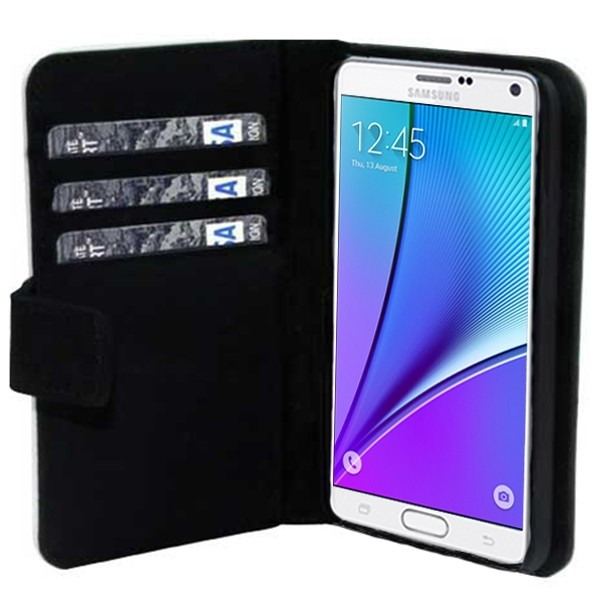 Samsung Galaxy Note 5 - Custom Wallet Case (Front Printed)