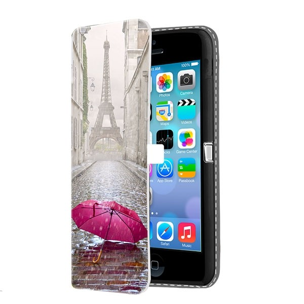 huge discount 3e0e8 40fbe iPhone 5C - Custom Wallet Case (Front Printed)