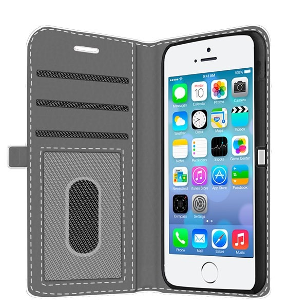 half off 39e3f e8c1e iPhone 5, 5S & SE - Custom Wallet Case (Front Printed)