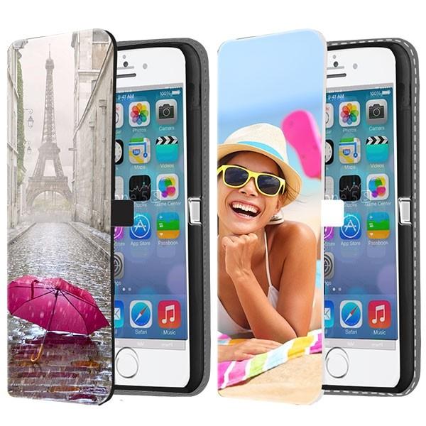 half off 9c3d1 c2341 iPhone 5, 5S & SE - Custom Wallet Case (Front Printed)