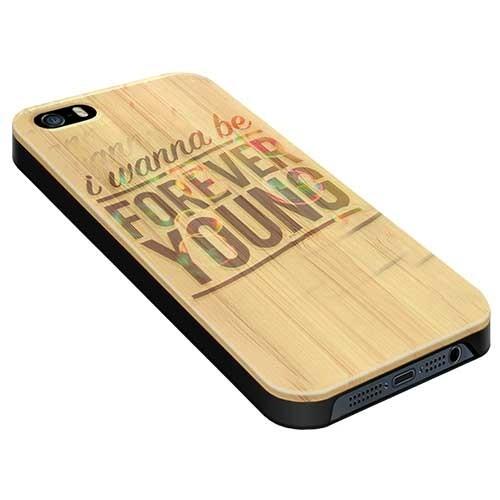 super popular 0b7ef dfa94 iPhone 5, 5S & SE - Custom Wooden Case