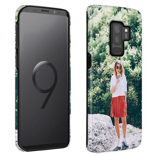big sale ad1b3 f38d4 Custom Galaxy S9 Plus Case | Custom Full Wrap Tough Case | GoCustomized
