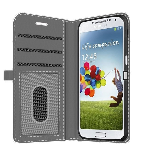 brand new fcaba 20fe8 Samsung Galaxy S4 Mini - Custom Wallet Case (Front Printed)