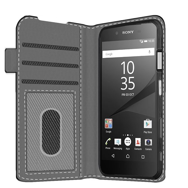 meet 2e206 fbbff Sony Xperia Z5 Compact - Custom Wallet Case (Front Printed)