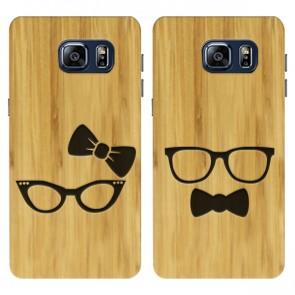 Samsung Galaxy S6 - Custom wooden case - Engraved