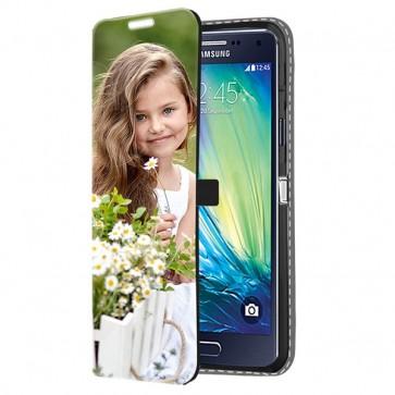 Samsung Galaxy A5 (2015) - Wallet Case Selbst Gestalten (Vorne Bedruckt)