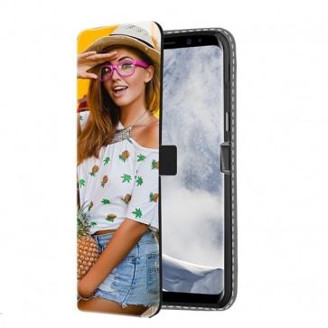 Galaxy S8 PLUS - Wallet Case Selbst Gestalten (Vorne Bedruckt)