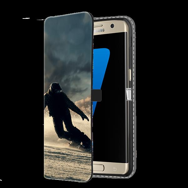 Samsung Galaxy S7 Hülle selbst gestalten - Flip Case - mit Foto