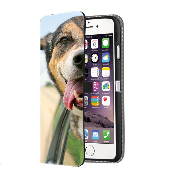 iPhone 7 Flip Case selbst gestalten - mit Foto