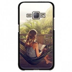 Samsung Galaxy J1 (2016) - Hard Case Handyhülle Selbst Gestalten