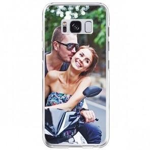 Samsung Galaxy S8 - Silikon Handyhülle Selbst Gestalten