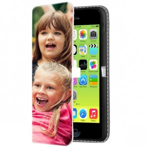 iPhone 5C - Wallet Case Selbst Gestalten (Vorne Bedruckt)