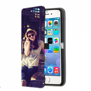 iPhone 5, 5S & SE - Wallet Case Selbst Gestalten (Vorne Bedruckt)