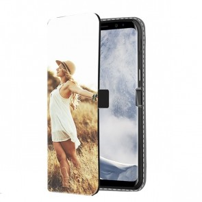 Samsung Galaxy S8 - Wallet Case Selbst Gestalten (Vorne Bedruckt)