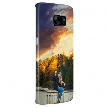 Samsung Galaxy S7 Edge  - Coque Rigide Personnalisée à Bords Imprimés