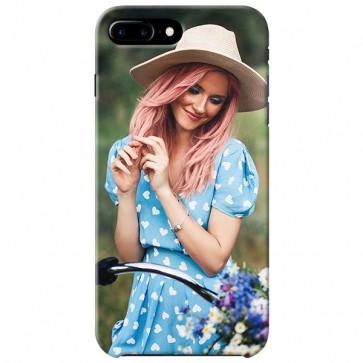 iPhone 7 PLUS - Coque Rigide Personnalisée à Bords Imprimés