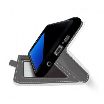 Samsung Galaxy S7 Edge - Coque portefeuille (Entièrement imprimée)