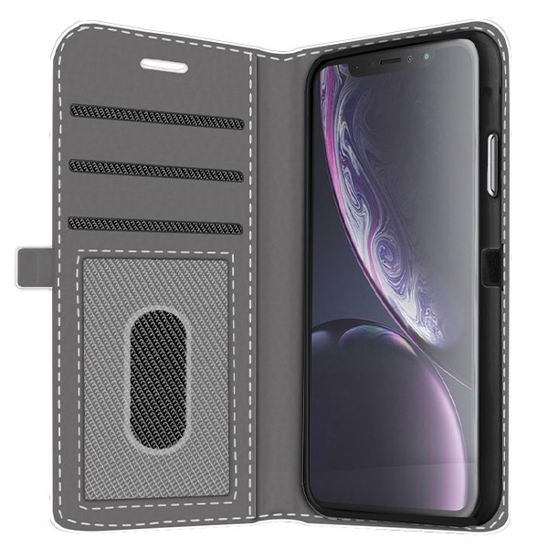 coque iphone portefeuille xr