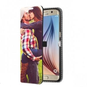 Samsung Galaxy S6 - Coque Portefeuille Personnalisée (Sur L'avant)